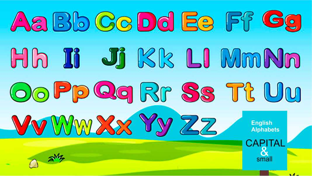 Capital and Small Alphabets