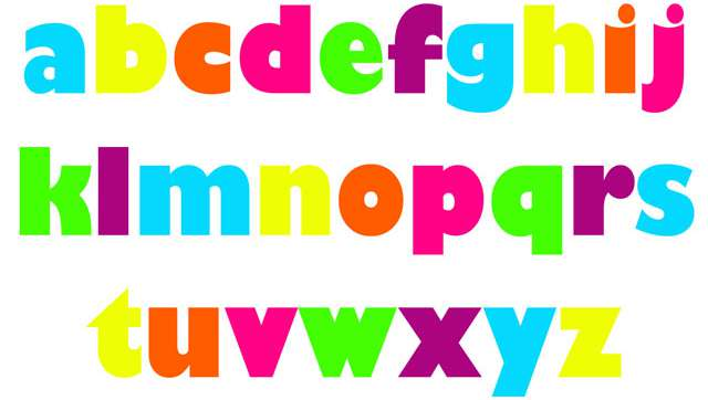 Small Alphabets
