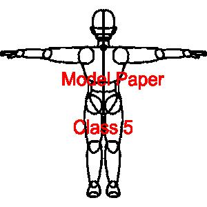 Model Paper Class 5