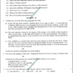 Past Paper - Class 9 English Lahore Board 2016 Subjective Type Group I - Page1