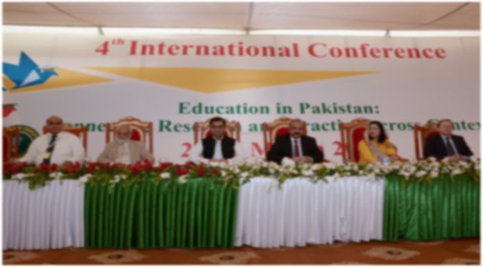 4th International Conference on Education and Research Delivers a Clear Vision for Pakistan