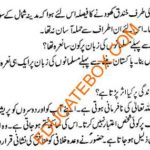 class 5 islamyat Previous year question papers (Page 4)