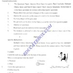 Past Paper English 5th Class 2006 Punjab Board - Solved Paper
