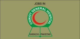 jobs in chiniot general hospital