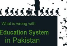 What is Wrong with the Educational System in Pakistan?