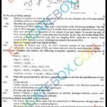 Past Paper 8th Class Science 2016 Solved Paper Punjab Board (PEC) Subjective Type Version 2