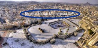 Shajra e Nasab Nabi Muhammad SAW - Silsih Nabi Muhammad SAW