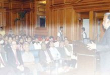 Debate on CSS Examination system on a Seminar