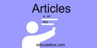 How To Use Articles In English Grammar