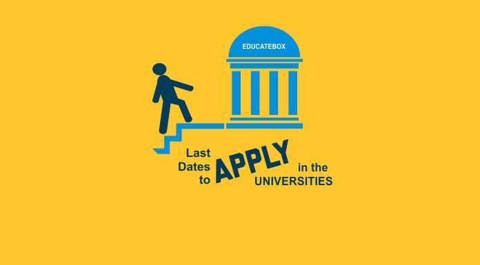 Last Dates to Apply in Various Universities in Pakistan