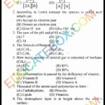 Past Paper Class 10 Chemistry Lahore Board 2014 Objective Type Group 2