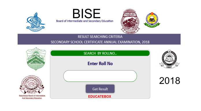 matric result 2018 - bord 10th result 2018