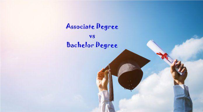 associate degree vs bachelor degree