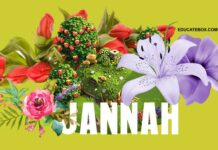 Names of Flowers in Jannat (Jannah)