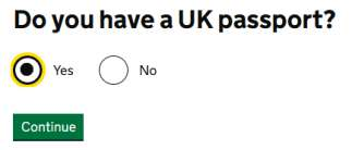 do you have uk passport