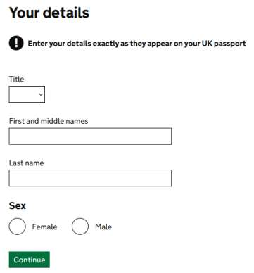 personal information in UK licence