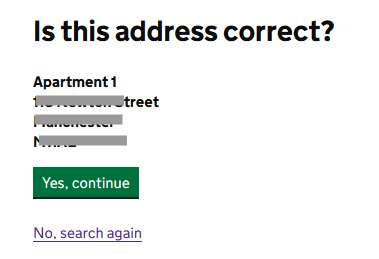 Address Confirmation. Confirm your address